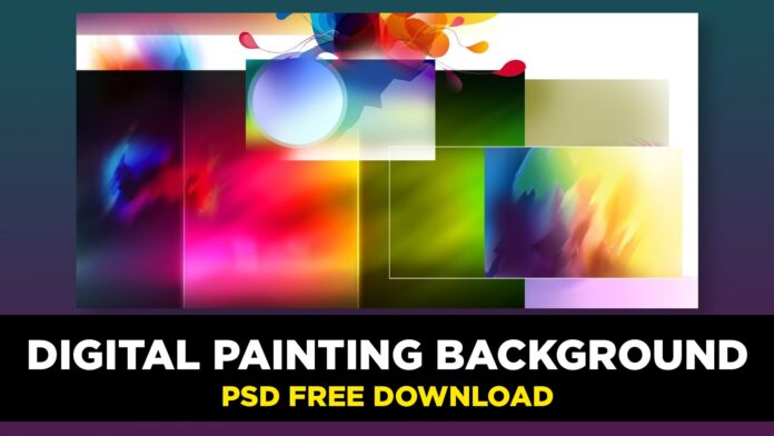 digital painting background free download